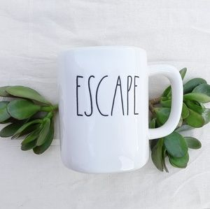 NWT Rae Dunn ESCAPE Mug